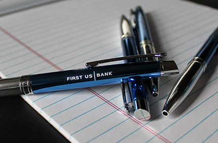 First US Bank Pens