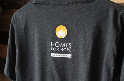 Homes for Hope Tees
