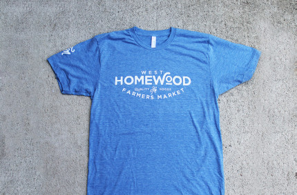 West Homewood Farmers Market Tees