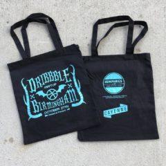 Dribbble Meetup Tote Bags